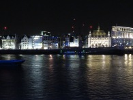 London from Across the Thames River - London, England, United Kingdom - by Anika Mikkelson - Miss Maps