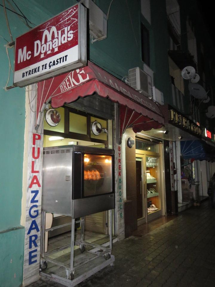 McDonalds of Elbasan Albania - by Anika Mikkelson - Miss Maps - www.MissMaps.com