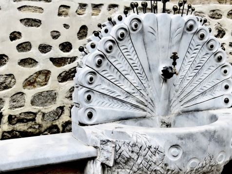 Peacock water spout Plovdiv, Bulgaria - by Anika Mikkelson - Miss Maps