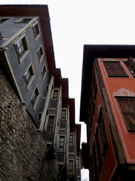 Perfect Lines and angles in the Old Town Plovdiv, Bulgaria - by Anika Mikkelson - Miss Maps