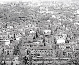 Plovdiv, Bulgaria from above - by Anika Mikkelson - Miss Maps