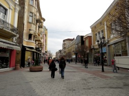 Plovdiv's Main Pedestrian Area - Plovdiv, Bulgaria - by Anika Mikkelson - Miss Maps