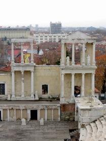 Plovdiv's Roman Ampitheater - Plovdiv, Bulgaria - by Anika Mikkelson - Miss Maps