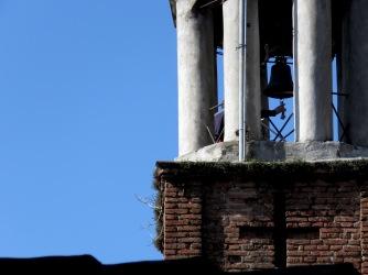 Ringing the Clock Tower - Elbasan Albania - by Anika Mikkelson - Miss Maps - www.MissMaps.com