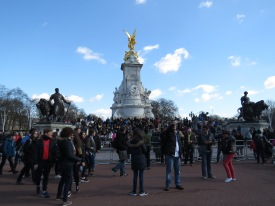 So many people outside Buckingham Palace - London, England, United Kingdom - by Anika Mikkelson - Miss Maps