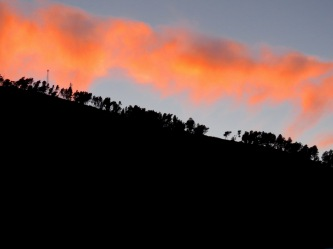Sunset - Berat Albania - by Anika Mikkelson - Miss Maps - www.MissMaps.com