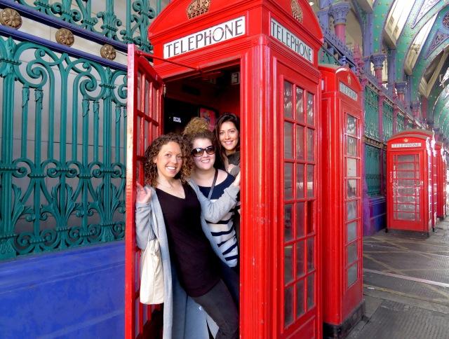 Telephone Booth Shennanigans - London, England, United Kingdom - by Anika Mikkelson - Miss Maps