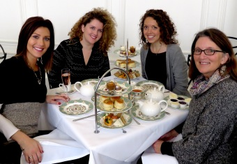 The Kufrins and Me at Afternoon Tea at the Orangery of Kensington Palace - London, England, United Kingdom - by Anika Mikkelson - Miss Maps