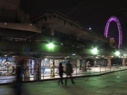 The Real London Underground and London Eye - London, England, United Kingdom - by Anika Mikkelson - Miss Maps