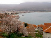 The View from our Balcony - Ohrid Macedonia - by Anika Mikkelson - Miss Maps - www.MissMaps.com
