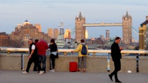 Tower Bridge as seen from The London Bridge - London, England, United Kingdom - by Anika Mikkelson - Miss Maps