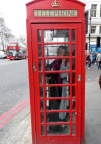 Typical Telephone Booth Photo Opp - London, England, United Kingdom - by Anika Mikkelson - Miss Maps