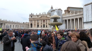 After several had cleared away - Vatican, Holy See - March 2013 - by Anika Mikkelson - Miss Maps - www.MissMaps.com