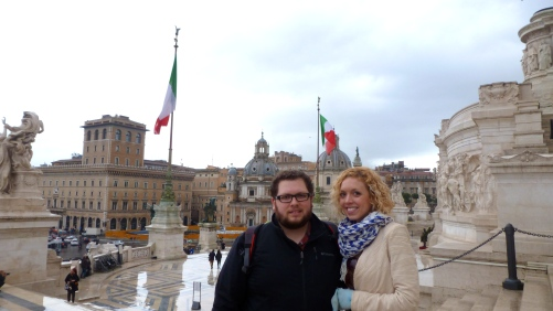 Ben and Me in Rome Italy - Anika Mikkelson - Miss Maps - www.MissMaps.com