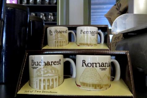 Bucharest and Romania Starbucks Mugs