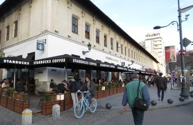 Bucharest, Romania Starbucks