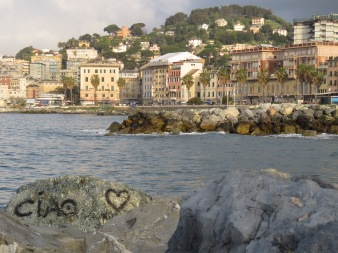 Ciao - Genoa, Italy - by Anika Mikkelson - Miss Maps - www.MissMaps.com