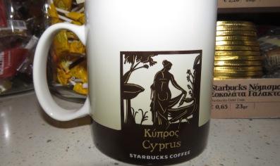 Cyprus Starbucks Mug