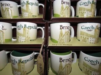 Czech and Brno Starbucks Mugs