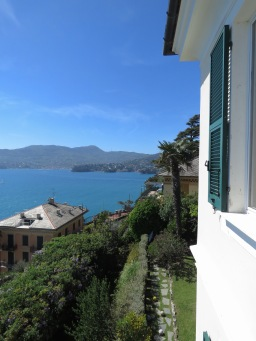 Decent view from up there, wouldn't you say - Italian Riviera - by Anika Mikkelson - Miss Maps - www.MissMaps.com
