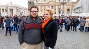 Excited to have seen the Pope - Holy See - by Anika Mikkelson - Miss Maps - www.MissMaps.com