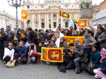 Excitement came from every direction - Vatican, Holy See - March 2013 - by Anika Mikkelson - Miss Maps - www.MissMaps.com