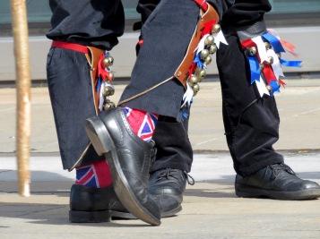 Feet and Jingle Bells - Blackheath Morris Men in Greenwich London UK - by Anika Mikkelson - Miss Maps