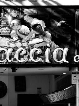 (Foc)Accia - Genoa's favorite food - Genoa, Italy - by Anika Mikkelson - Miss Maps - www.MissMaps.com