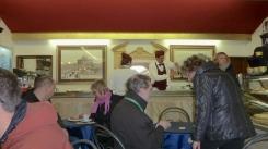 Inside a Roman Cafe in Rome Italy - by Anika Mikkelson - Miss Maps - www.MissMaps.com
