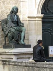 Keeping a watchful eye Montpellier France - by Anika Mikkelson - Miss Maps - www.MissMaps.com