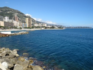 Monaco Bay in perfect blues and golds - Monaco - by Anika Mikkelson - MissMaps.com