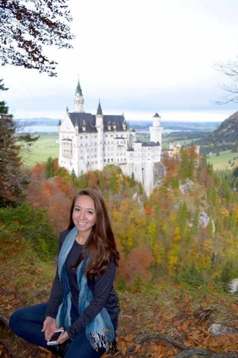 Neuschwanstein Castle by Savannah Benefield - Miss Maps Featured Female Traveler - by Anika Mikkelson - www.MissMaps.com