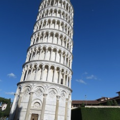 Oh wait, now it seems a bit off - Leaning Tower of Pisa, Italy - by Anika Mikkelson - Miss Maps - www.MissMaps.com