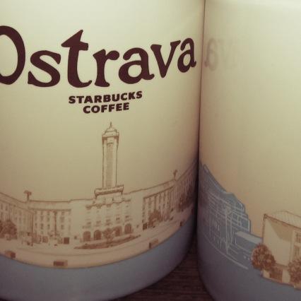 Ostrava Starbucks Mug