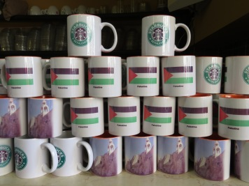 Palestine and Bethlehem (faux?) Starbucks Mug