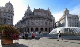 Piazza de Ferrari - Genoa, Italy - by Anika Mikkelson - Miss Maps - www.MissMaps.com