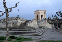 Promenade of Montpellier France - by Anika Mikkelson - Miss Maps - www.MissMaps.com