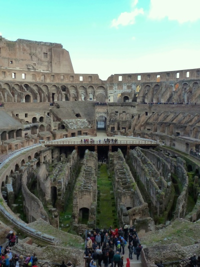 Rome's Colosseum - Italy - by Anika Mikkelson - Miss Maps - www.MissMaps.com