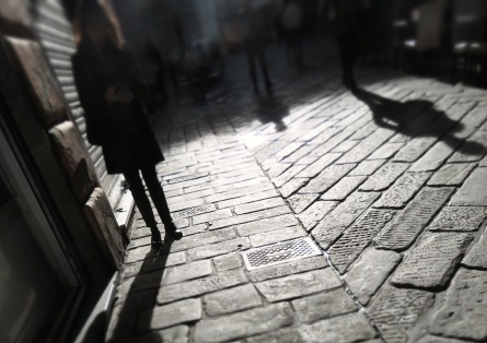 Shadows in the Morning Light - Genoa Italy - by Anika Mikkelson - MissMaps.com