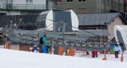Ski lifts and skiiers - Andorra - by Anika Mikkelson - Miss Maps - www.MissMaps.com