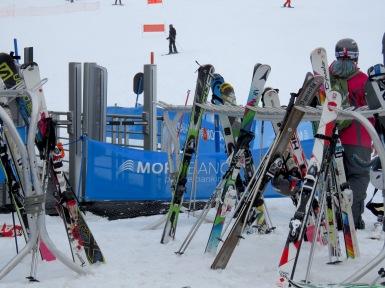 Skis - Andorra - by Anika Mikkelson - Miss Maps - www.MissMaps.com