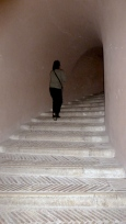 Steps of Castel Sant'Angelo in Rome Italy - by Anika Mikkelson - Miss Maps - www.MissMaps.com