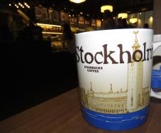 Stockholm Starbucks - by Anika Mikkelson - Miss Maps - www.MissMaps.com