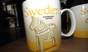 Sweden Starbucks Mug