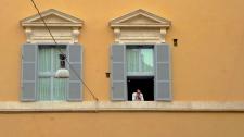 Taking a break in Rome Italy - by Anika Mikkelson - Miss Maps - www.MissMaps.com