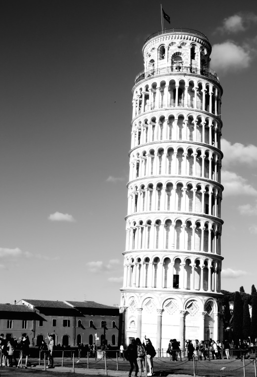 That iconic place - Leaning Tower of Pisa, Italy - by Anika Mikkelson - Miss Maps - www.MissMaps.com