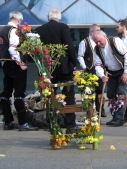 The Royal Fertility Throne of the Blackheath Morris Men in Greenwich London UK - by Anika Mikkelson - Miss Maps