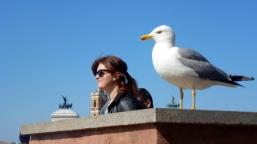 Twins in Rome Italy - by Anika Mikkelson - Miss Maps - www.MissMaps.com