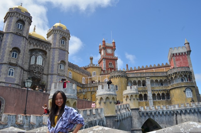 """Sintra, Portugal - taken during my first backpacking trip with my friends back in 2012"""" by Vivian - MissMaps.com Featured Female Traveler"""
