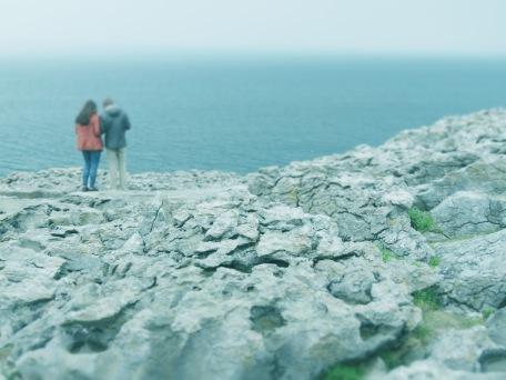 A couple at Burren Ireland - Shamrocker Adventure Tours - by Anika Mikkelson - Miss Maps - www.MissMaps.com